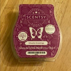 Scentsy Ghostly Greetings wax bar
